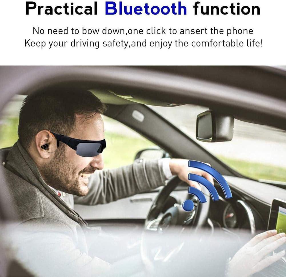 grabadora de Video con Auriculares videoc/ámara con Gafas 32G 1080P Gafas Digitales para Conducir Escuchar m/úsica Goodde C/ámara de acci/ón con Gafas de Sol Bluetooth contestar Llamadas