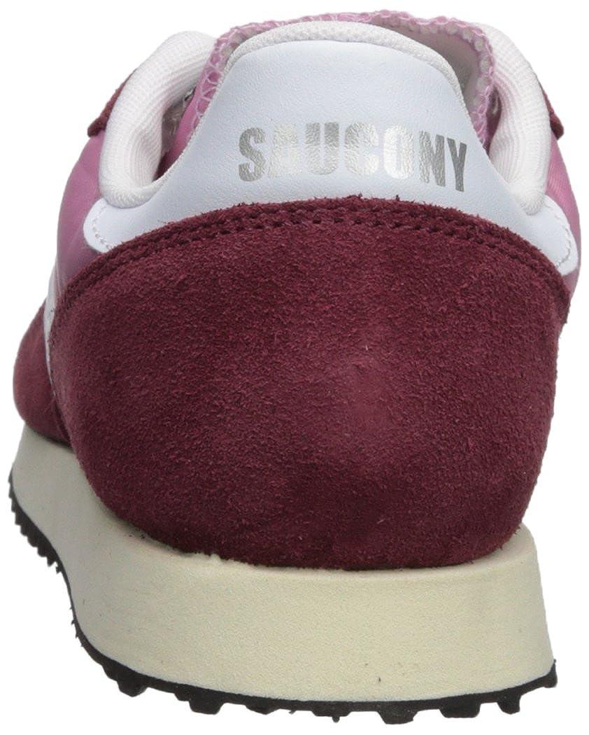 Saucony Vintage Damen DXN Trainer Vintage Saucony Gymnastikschuhe Rot (Bur/Pnk 22) 928318