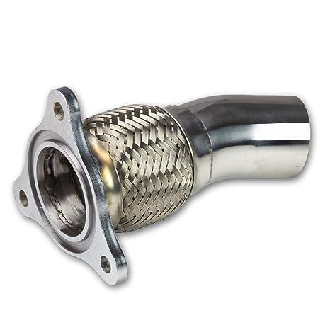 Tubo de vaciado del turbo para Chevy Cobalt en acero inoxidable - flexo para la salida