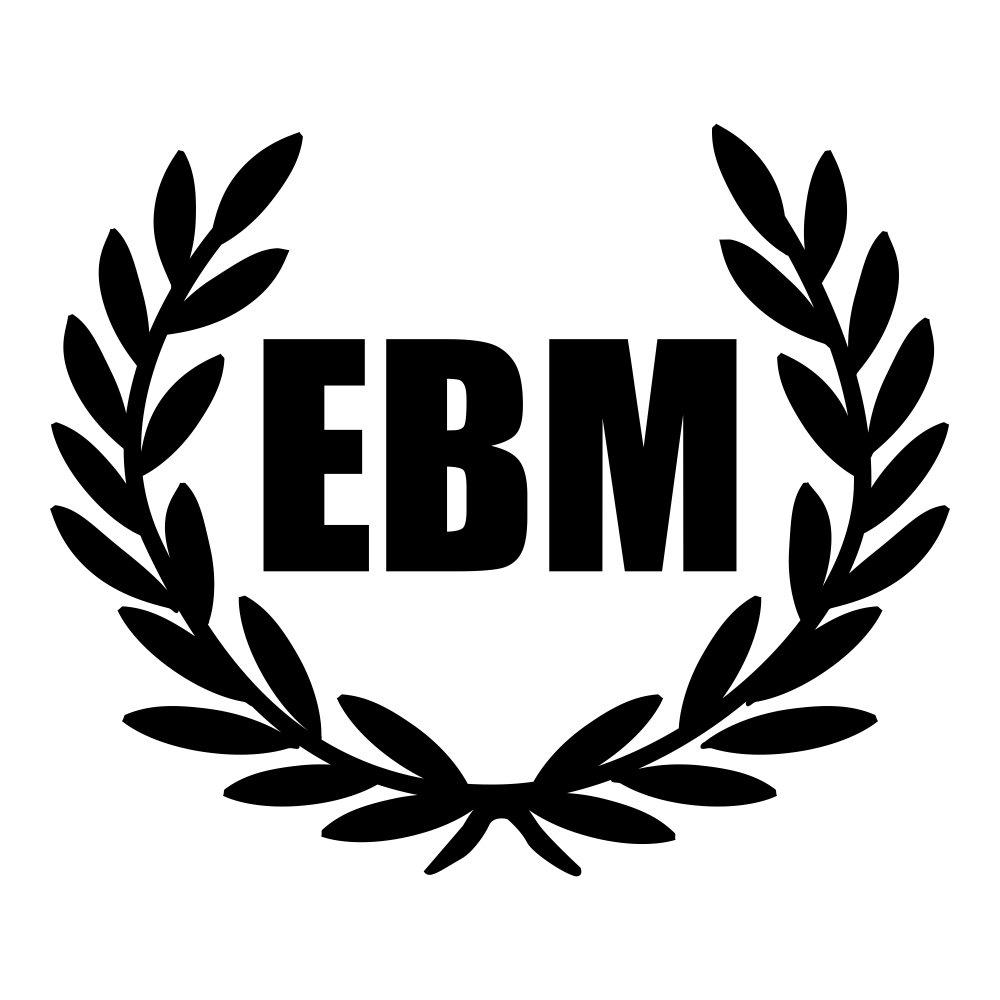 Kiwi Star EBM - Electronic Body Music con corona Laurel - Adhesivo ...