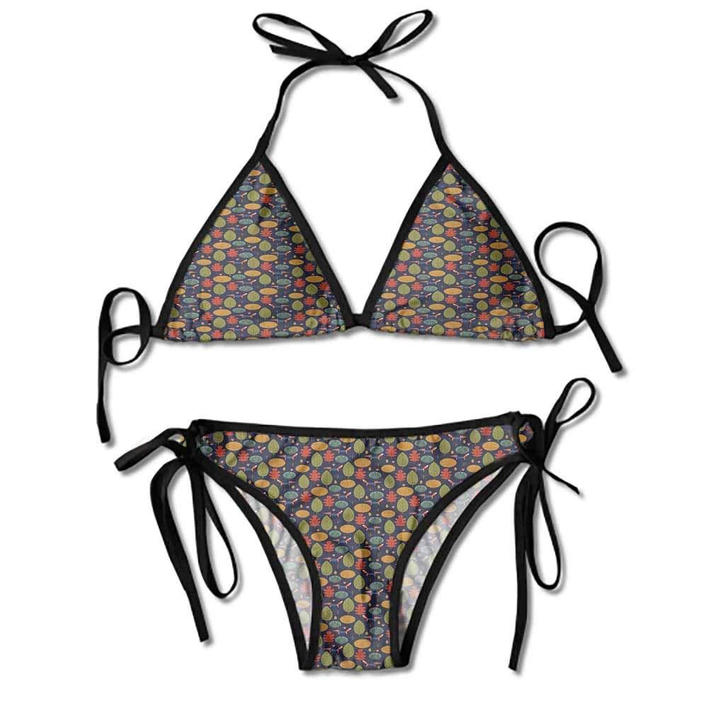 Amazon.com: Bikini de baño para mujer Fox con atuendo formal ...