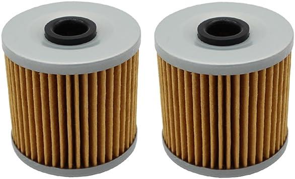 2 Pack Oil Filter FITS KAWASAKI MOJAVE 250 KSF250 KSF-250 KSF 250 1987-2004