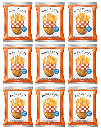 Bacon Cut Thick (Calbee Whole Cuts Bacon & Cheddar 1.35oz (Pack of 9))