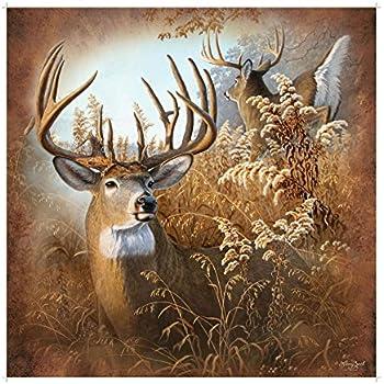 Rustic Deer Shower Curtain