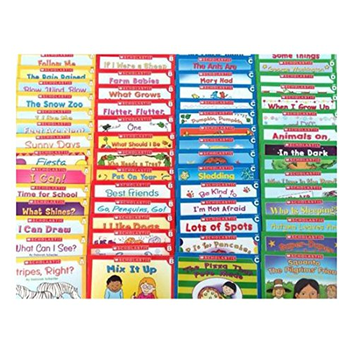 60 Easy Phonics Leveled A B C D Gurided Readers Kindergarten Learn to Read LOT -- Complete Learn to Read Set