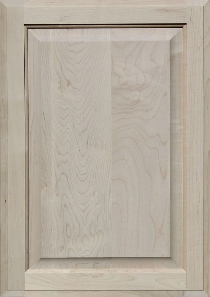 Unfinished Maple Cabinet Door, Square with Raised Panel by Kendor, 24H x 17W Kendor Wood Inc.