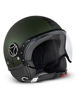 MOMO Design Casco Classic verde militar mate, talla L