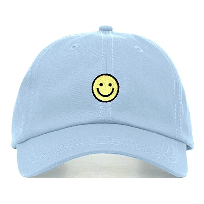 babc1e71f2134 Smiley Face Dad Hat