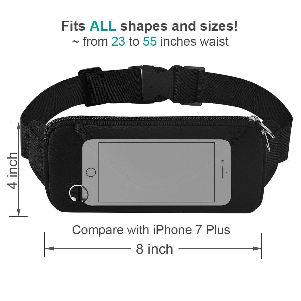 d28dcdca7dad Running Belt Waist Fanny Pack for iPhone X 8 7 Plus - Aisver Water ...