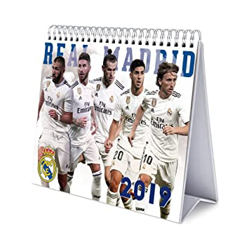 Real Madrid Calendario.Grupo Erik Editores Cs19022 Calendario De Sobremesa 2019 Real Madrid 17 X 20 Cm