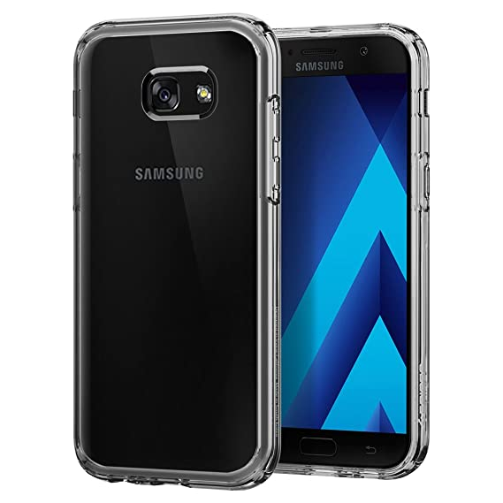 separation shoes d8bb6 1db2a Spigen Ultra Hybrid Galaxy A5 2017 Case with Air Cushion Technology and  Hybrid Drop Protection for Samsung Galaxy A5 (2017) - Crystal Clear