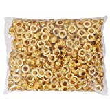 1000 Package #4 1/2 Grommet Machine Grommets & Washers Brass Hand Press Tool Die Eyelet for Tags Bags Curtains Belts Etc by Yescom