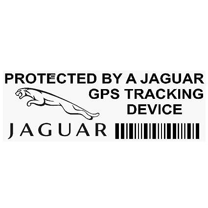 5 x ppjaguargpsblk GPS negro dispositivo de seguimiento de seguridad ventana pegatinas 87 x 30 mm