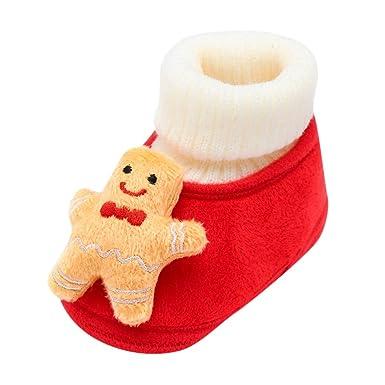 Botas de Bebe, Bebé recién Nacido Navidad Ciervos de Dibujos ...