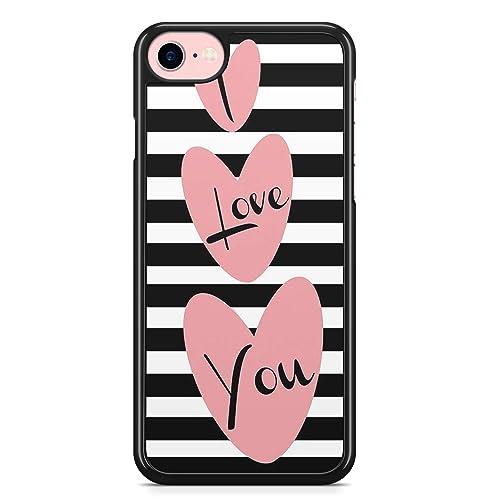 Coque iPhone 6 et 6S I Love you: Amazon.fr: Handmade