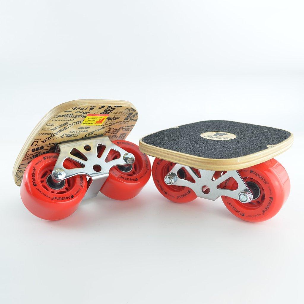 【美品】 ドリフトボードフリーラインスケートフラッシュ大人の子供四輪スプリットスケートボード輸送道路スクラブ手塗りパターン Red B07FLTN9XF B07FLTN9XF Red Red Red, ブリリアントガーデン:71f92245 --- a0267596.xsph.ru