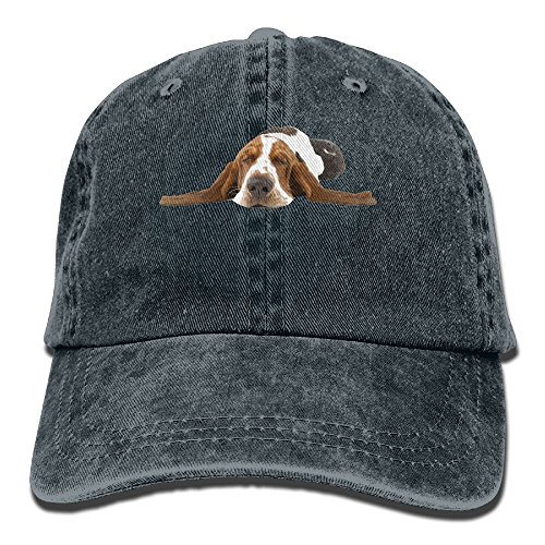 Hat Basset Hound Dog Sleep Denim Skull Cap Cowboy Cowgirl Sport Hats For Men Women