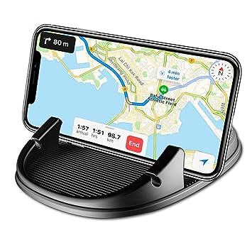 Freall de voiture support pour téléphone portable, support téléphone Voiture  en silicone antidérapant Pad Tapis fe3651d58fe5