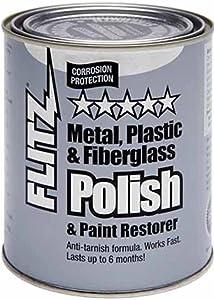 Flitz Metal Polish, Fiberglass & Paint Restorer - 2 lb Can