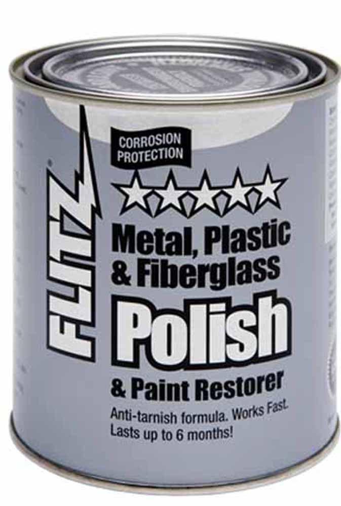 Flitz Metal Polish, Fiberglass & Paint Restorer - 2 lb Can FL-CA-03518