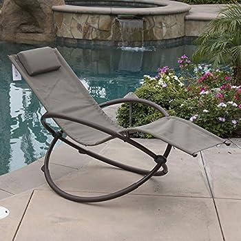 Amazon Com Belleze Orbital Folding Zero Lounger Chair