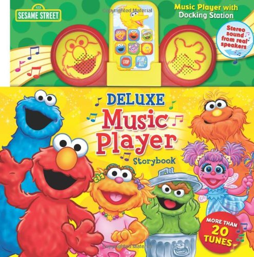 Sesame Street Deluxe Player Storybook