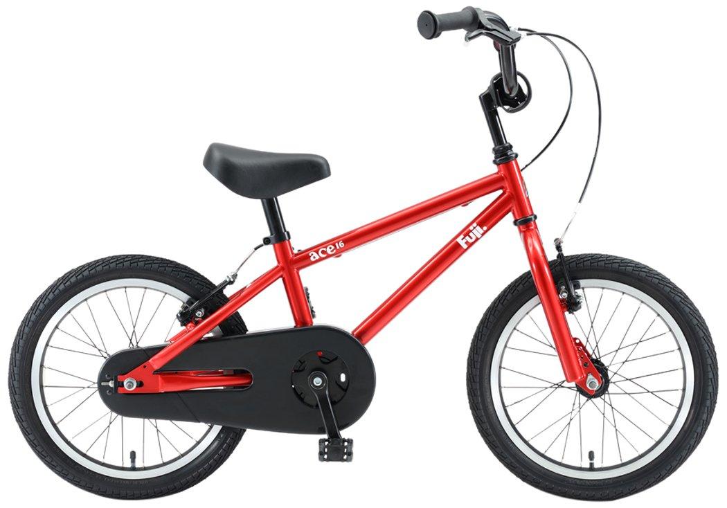 FUJI(フジ) ACE 16インチ キッズバイク 2018年モデル [補助輪付き] 18AC16RD16 シャイニーレッド B075SZG9YM