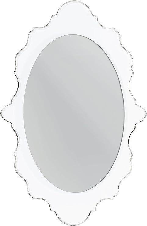 64x4x100 cm Plexiglass//PMMA Iplex Design Benvenuto Specchio da Parete