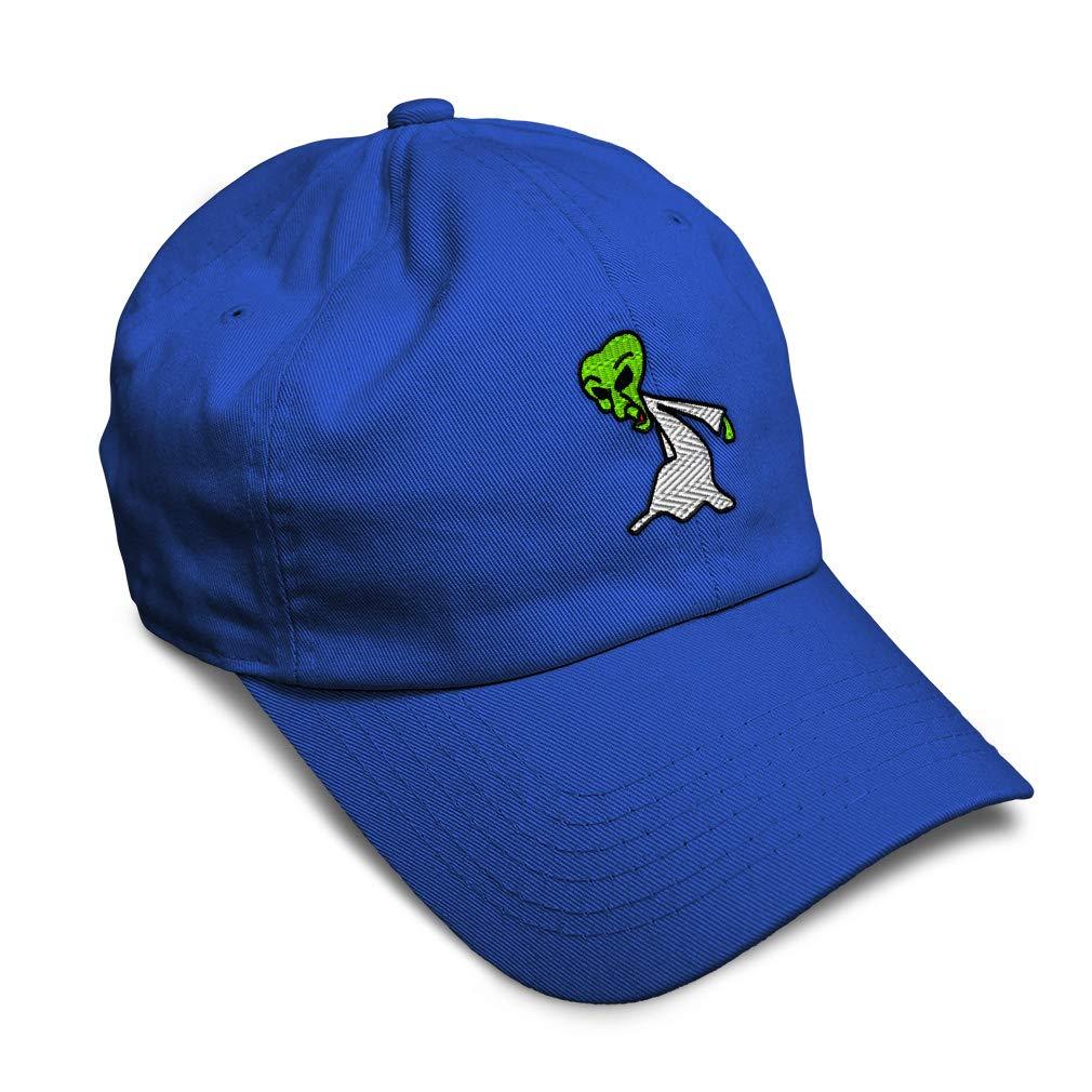 Custom Soft Baseball Cap Scientist Alien Embroidery Dad Hats for Men /& Women