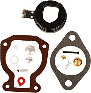HIFROM BRP Outboard Carburetor Repair/Rebuild Carb Kit with Float 4-15 hp Replacement for Johnson Evinrude 398453