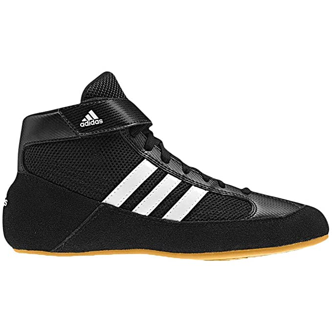 lowest price 760e1 31cf7 adidas Hvc 2 BlackWhite Wrestling Shoes 6.5