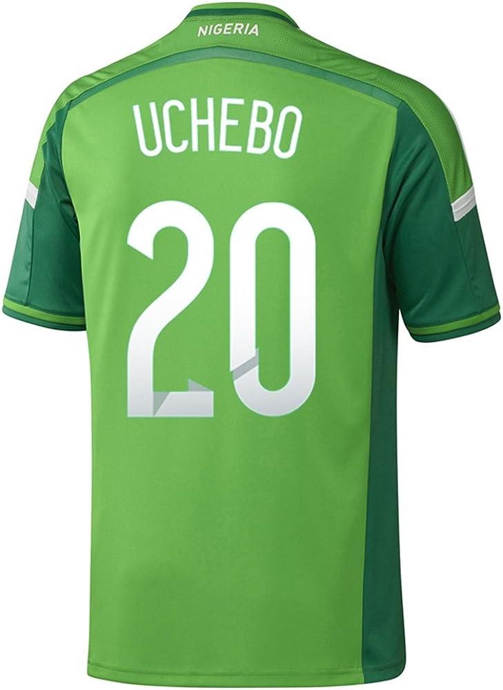 adidas UCHEBO #20 Nigeria Home Jersey World Cup 2014