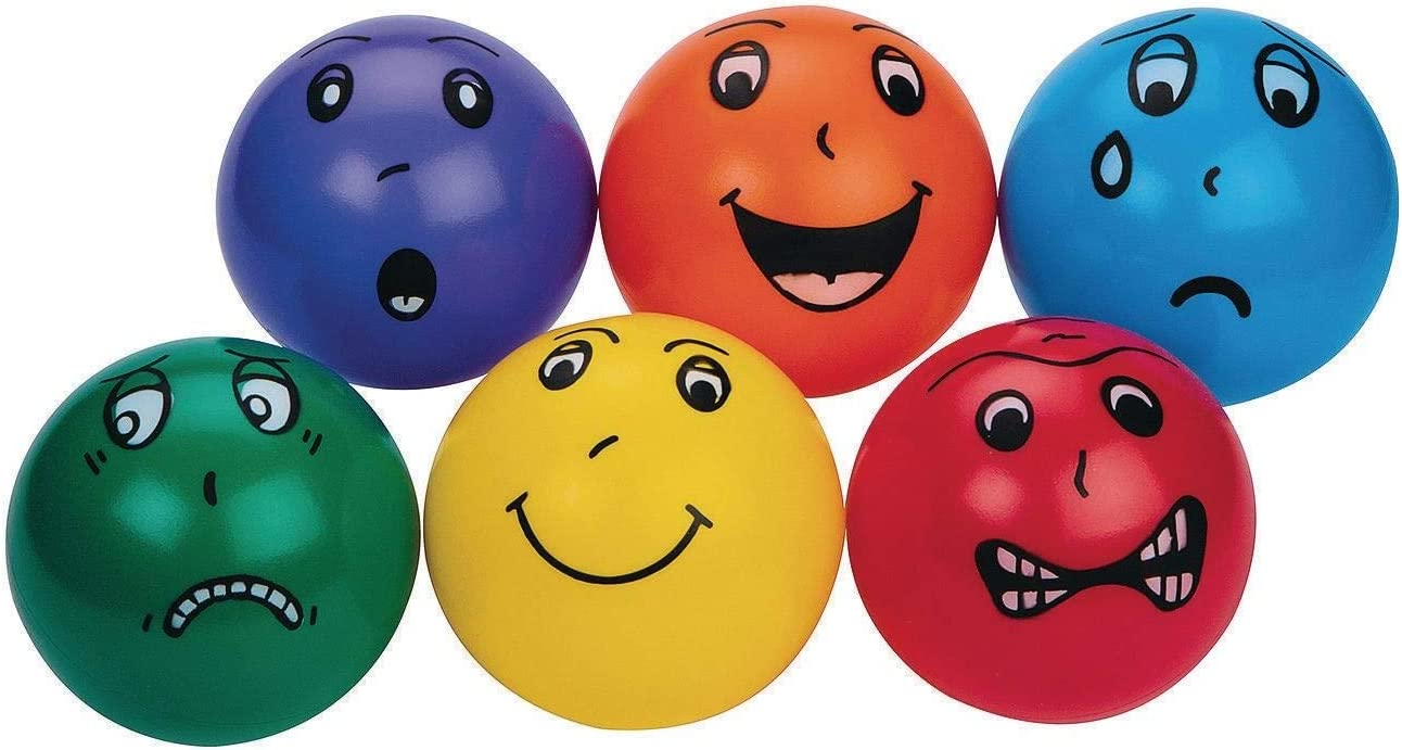 S S Worldwide Smedley Vinyl Balls Set of 6