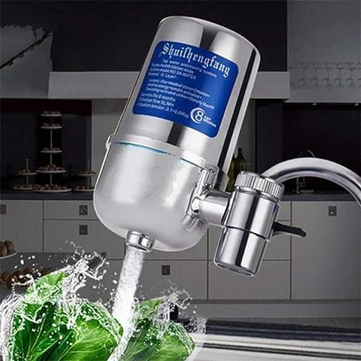 NBNBN Filtro de Grifo de Agua de Cocina 8 Capa de Filtro de cerámica Limpiador Purificador