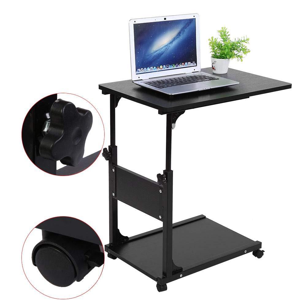 mit Schublade und Ablage Sofa Laptop Laptop H/öhe verstellbar 55~80 cm B/üro SOULONG Solong Betttisch f/ür Computer mit Rollen Halterung f/ür PC