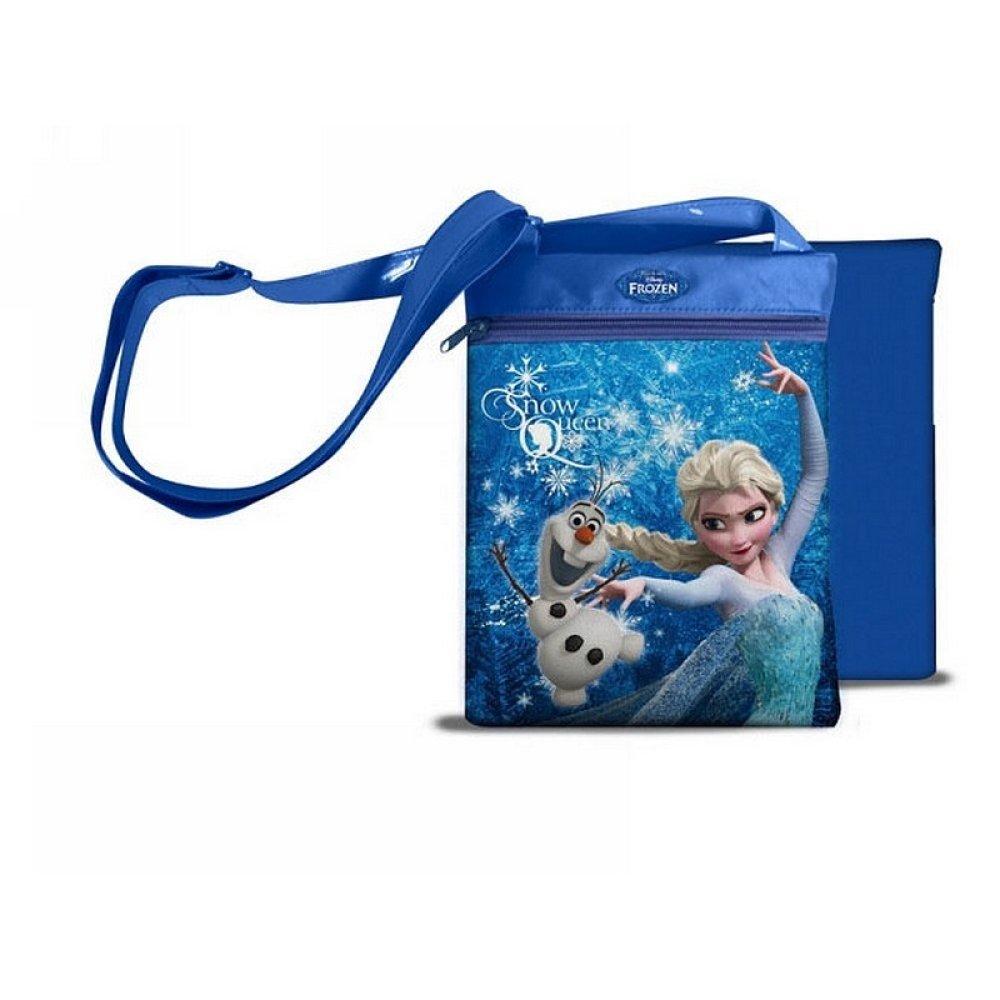 Disney Frozen Die Eiskönigin Kinder Umhängetasche Blau