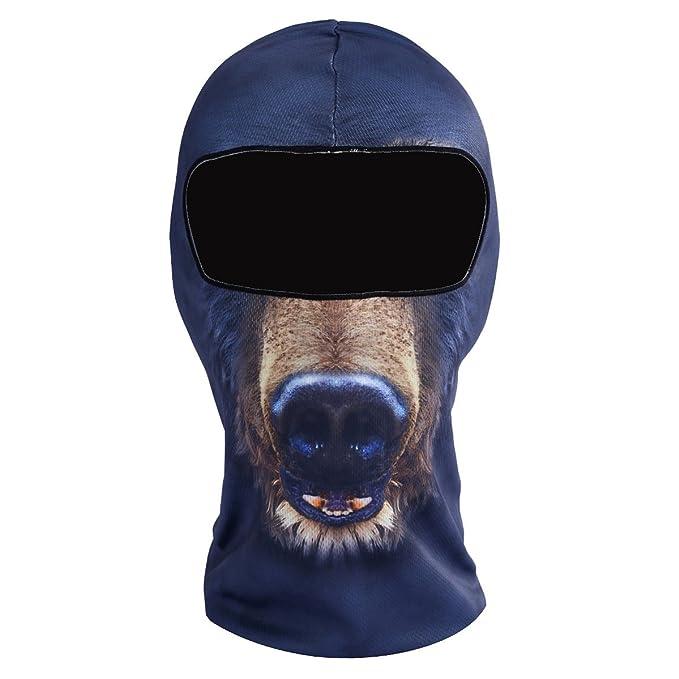 Amazon.com: yashaly pasamontañas máscara de esquí, fino y ...