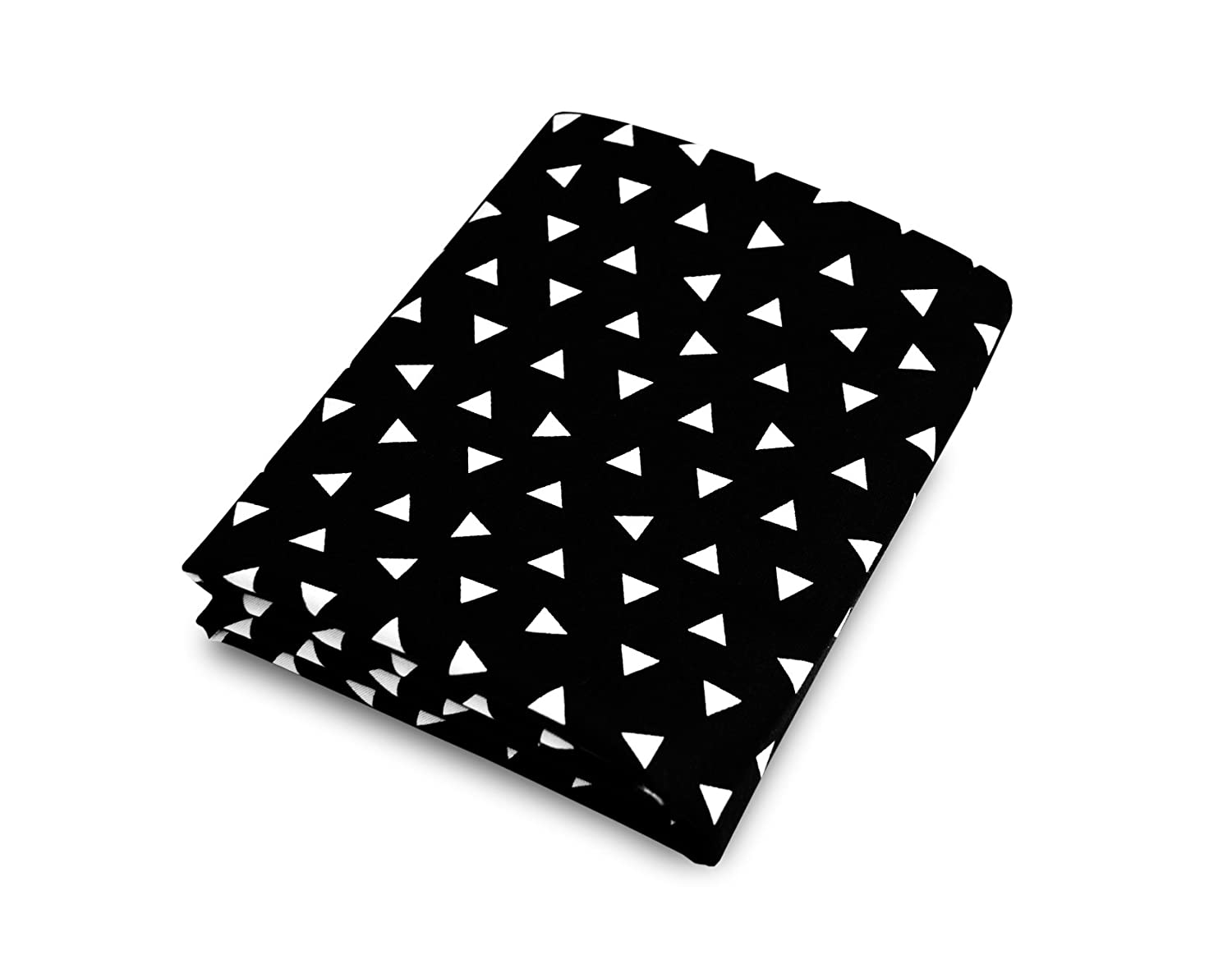 Olli & Lime Triangle Crib Sheet, Black/White by Olli & Lime   B016877P38