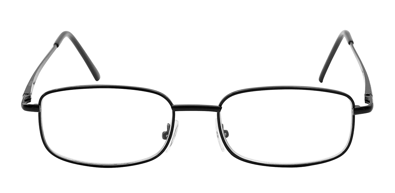 3398c2f8a8 TBOC Gafas de Lectura Presbicia Vista Cansada - Graduadas +3.00 Dioptrías  Montura Metálica Negra Ligera de Diseño Moda para Hombre Mujer Unisex  Lentes de ...