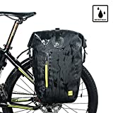 RHINOWALK Waterproof 25L Bicycle Bag Bike postman saddlebag Pannier Bag...