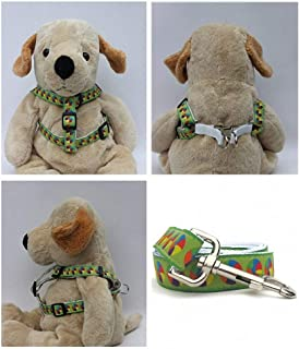 "product image for Diva-Dog 'Moondoggie' Custom 5/8"" Wide Dog Step-in Harness with Plain or Engraved Buckle, Matching Leash Available - Teacup, XS/S"