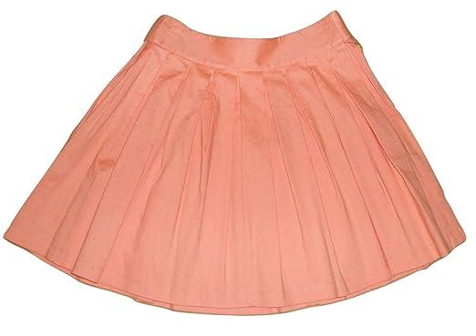 e71323e97 Bloutina Alice + Olivia Wide Pleated Peach Mini Skirt at Amazon ...