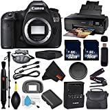6Ave Canon EOS 5DS DSLR Camera (Body Only) International Version (No Warranty) + Epson SureColor P600 Inkjet Printer + 16GB & 32GB SDHC Class 10 Memory Card + Carrying Case Bundle