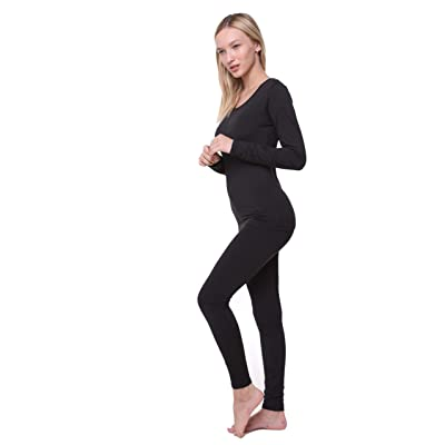Women Thermal Underwear Set Outland; Base Layer; Soft Fleece; Top & Leggings at Women's Clothing store
