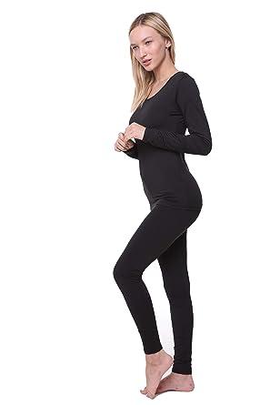 41eff51fc6 Women Thermal Underwear Set Outland  Base Layer  Soft Fleece  Top    Leggings at Amazon Women s Clothing store