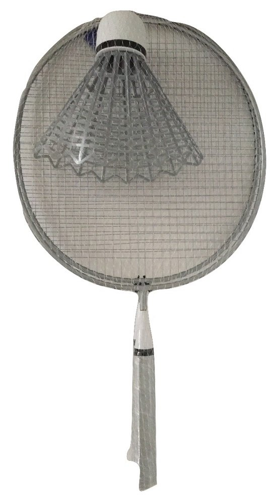 Giant Silver/Gray Badminton Summer Fun Game Set