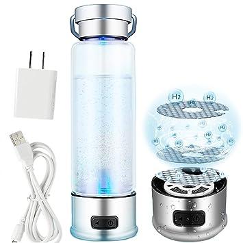 Univegrow - Botella para agua rica en hidrógeno recargable ionizada para generador de agua en 3