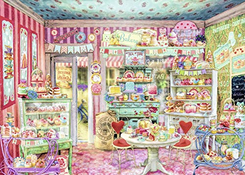 Ravensburger The Candy Shop 1000 Piece Jigsaw Puzzle Adults – Every Piece is Unique, Softclick Technology Means Pieces Fit Together Perfectly