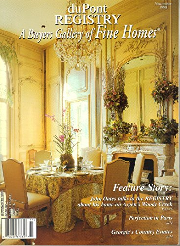 duPont Registry A Buyers Gallery of Fine Homes Magazine (November, 1998)