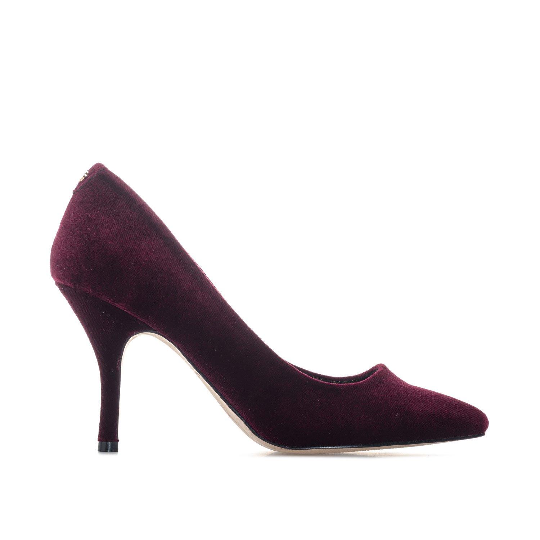 4e2486206fdf Ravel Womens Scala Velvet Court Shoes in Bordo  Amazon.co.uk  Shoes   Bags